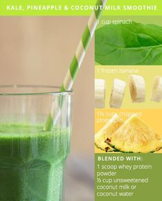 Healthy Smoothies Recipe Green Smoothie Recipes for Glowing Skin. These recipes sound so good; had to share. - Give you health and beauty an extra boost of important vitamins and nutrients with these new, creative takes on green smoothies. Green Smoothie Recipes, Juice Smoothie, Smoothie Drinks, Healthy Smoothies, Healthy Drinks, Healthy Snacks, Smoothie Cleanse, Healthy Habits, Healthy Choices