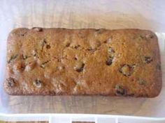 Traditional tea loaf.  nothing better for afternoon tea, spread with a little butter.