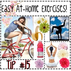 Easy At-Home Exercises! Tip #15 by polyvoretips on Polyvore