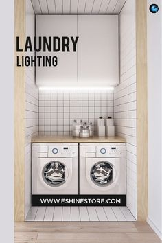 home design ideas living room Laundry Room Lighting, Hygge Home, Minimalist Living, Kitchen Appliances, House Design, Led, Lights, Space, Diy Kitchen Appliances