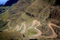 Photo about Sani Pass. Pass that connects South Africa and Lesotho. One of the highest passes in Drakensberg Mountains. Image of rough, south, extreme - 16886453 Cross Country Trip, Country Roads, Bicycle Maintenance, Cool Bike Accessories, Worlds Of Fun, Mountain Biking, Drake, South Africa, National Parks