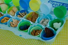Non candy ideas for easter egg hunt