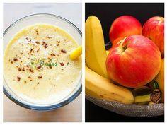 Studiile au arătat că merele ne pot apăra de numeroase boli: osteoporoză, Alzheimer, boli cardiovasculare și diferite tipuri de cancer (de plămâni, de sân, de ficat și de colon). Healthy Drinks, Cantaloupe, Cancer, Milkshakes, Fruit, Cooking, Ethnic Recipes, Food, Home