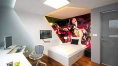Bedrooms Can Be Excellent Game Rooms