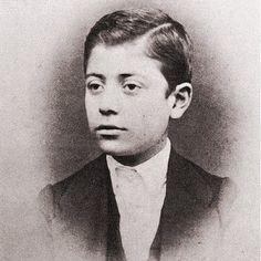 Gustav Mahler - (11 years old)