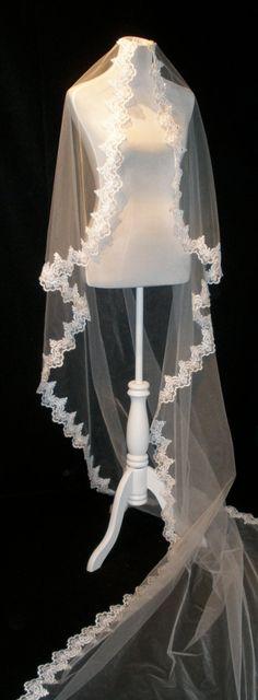 Mantilla Cathedral Wedding Veil