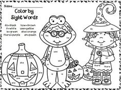 Color By Sight Words~ FREEBIES! Great for 1st-2nd Grades! A gift ...