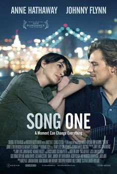Póster de 'Song one'  con Anne Hathaway