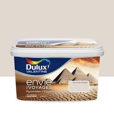 Peinture beige pyramides pastel DULUX VALENTINE Envie de voyage 2.5 l