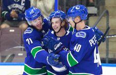 SPORTS: Vancouver Canucks sink Winnipeg Jets in #Penticton by Brandon Smith. South Okanagan Events Centre (SOEC), #hockey #vancouvercanucks #winnipegjets. Vancouver Canucks, Brandon Smith, Hockey, Arts And Entertainment, Jets, Centre, Sink, Entertaining, Music