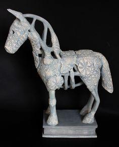 My Work in Pictures Sculpture Art, Sculptures, Horse Art, Rag And Bone, 3d Design, Photos, Horses, Ceramics, Statue