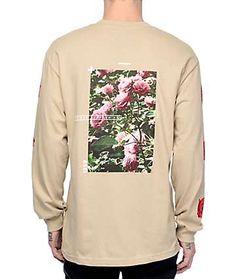 Empyre Vertigo Rose Natural Long Sleeve T-Shirt