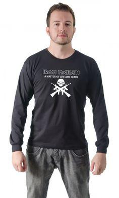 Camiseta Rock Iron Maiden Army por apenas R$29.99
