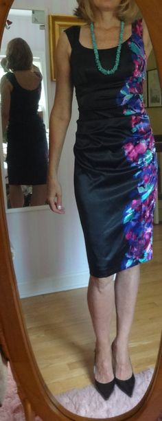 """Dressing over 50 - the """"London Times"""" dress that started it all - easy to pack, a good fit and affordable - I bought three more after this one!"""