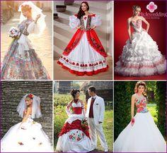Сватбени рокли в славянски стил: модели и стилове на древни костюми със снимка Wedding Styles, Bride, Wedding Dresses, Model, Clothes, Fashion, Victorian Dresses, Dress Wedding, Bridle Dress