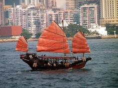 Old Chinese boat Wing Chun, Kung Fu, Chinese Boat, Electric Boat, Belem, Osaka, Sailboat, Sailing Ships, Around The Worlds