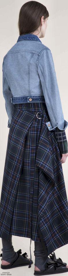 ℳiss Tallulah Tatum wears her nova check, plaids and classic tartan Poppy Pea ♞ Fall 2016 Cédric Charlier