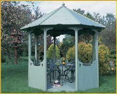 1000 id es sur le th me gloriette sur pinterest jardin anglais jardin de c - Gloriettes de jardin ...