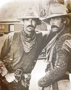 Photo from The Shadow Riders starring Tom Selleck and Sam Elliott