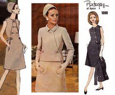 60s Pertegaz Coat Dress & Jacket Vogue by allthepreciousthings, $85.00