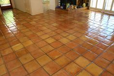 I've lived on saltillo tile (terra-cotta tile) floors for over twenty years. I love it so much I just had it installed in our new house. I...