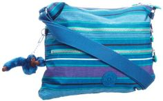 Kipling Women'S Alvar Shoulder Bag Summer Stripe 85