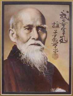 MORIHEI UESHIBA O-SENSEI (1883 - 1969)  植芝盛平