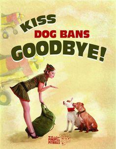 Dog bans make no sense. You cannot tell behavior based on appearance alone.