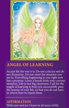 Angel of Learning