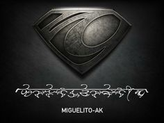 I am Miguelito-Ak (Miguelito of the house of AK). Join your own Kryptonian House with the #ManOfSteel glyph creator http://glyphcreator.manofsteel.com/