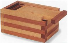 Laminated KeepSake Box - Cool Wood Projects to Build << simple and cool wood projects