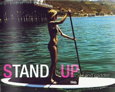 Standup paddle board (sup) with Marisa Miller   readbreathe.com