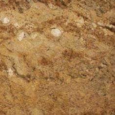 3 in. granite countertop sample in yellow river, gold/grey/brown