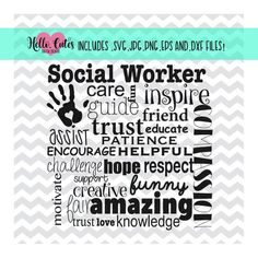 Your place to buy and sell all things handmade - - Principal Appreciation, Teacher Appreciation, Inspirational Classroom Posters, Inspirational Quotes, Social Worker Quotes, Social Workers, Morals Quotes, Social Work Practice, Social Services