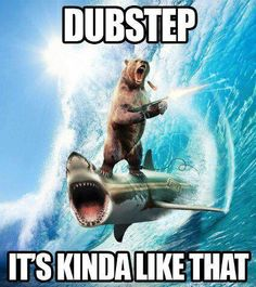 What else is dubstep kinda like? I'm curious to know what else it's like.