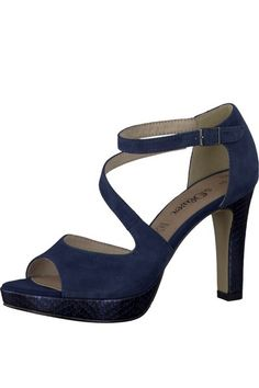 811c99a122d Head Over Heels By Dune Navy  Corrin  Mid Heel Shoes