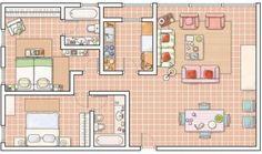 Planos de casas de campo (5)