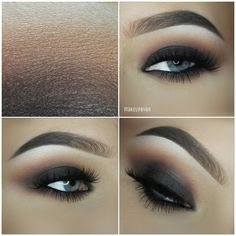 """""""Tutorial on this look is online at my YouTube chanel. Link in my Instagram Bio ❤ don't forget to subscribe to see whenever I upload a new video. 》Lashes:…"""""""