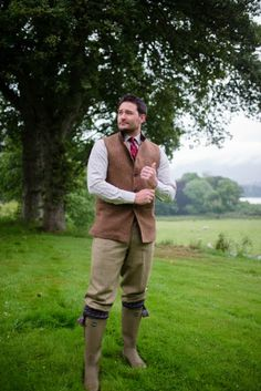 Campbell& of Beauly - Mens Tweed Nehru Collar Gilets House In The Woods, Online Purchase, Tweed, Menswear, Lord, Fashion, Moda, Fashion Styles, Men Wear
