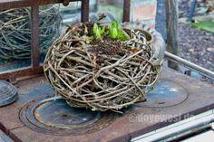 Nester aus Birkenreisig und Weinreben - Karin Urban - NaturalSTyle