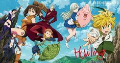 Nanatsu no Taizai OP 1 Howling Anime Seven Deadly Sins, 7 Deadly Sins, Vampire Knight, Manga Anime, Meliodas And Elizabeth, Kamigami No Asobi, Seven Deady Sins, One Piece Pictures, Image Manga