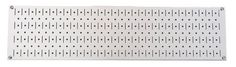 Wall Control Narrow Pegboard Rack 8in x 32in White Metal Pegboard Runner Tool Board by Wall Control, http://www.wallcontrol.com/8in-x-32in-horizontal-white-metal-pegboard-tool-board-panel/