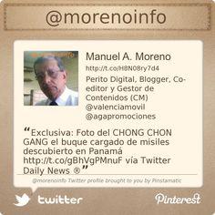 @morenoinfo Twitter profile courtesy of @Pinstamatic (http://pinstamatic.com) contactame para cualquier consulta sobre como impulsar los negocios con nuevas tecnologías aquí http://director.valenciamovil.tel