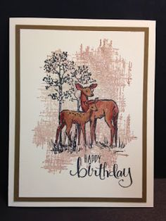 In the Meadow, You've Got This, Masculine Birthday Card, Stampin' Up!, Rubber…