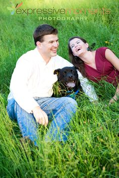 Couple in a Norris field with their dog Picture Ideas, Photo Ideas, Engament Photos, Fun Family Photos, Blue Bonnets, Strike A Pose, Photoshoot Ideas, Dog Pictures, Wedding Photography