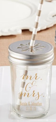 Mason jar drink holder