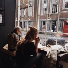Amsterdam, but reminds me of studying at a coffee shop in Edinburgh