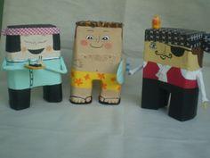 Toys - papel machê