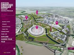 Preview of the 3D Virtual Tour of the Queen Elizabeth Olympic Park