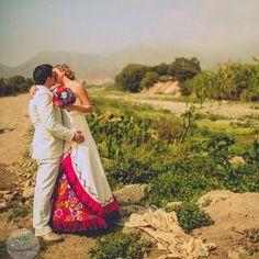 Vestido de novia Andino